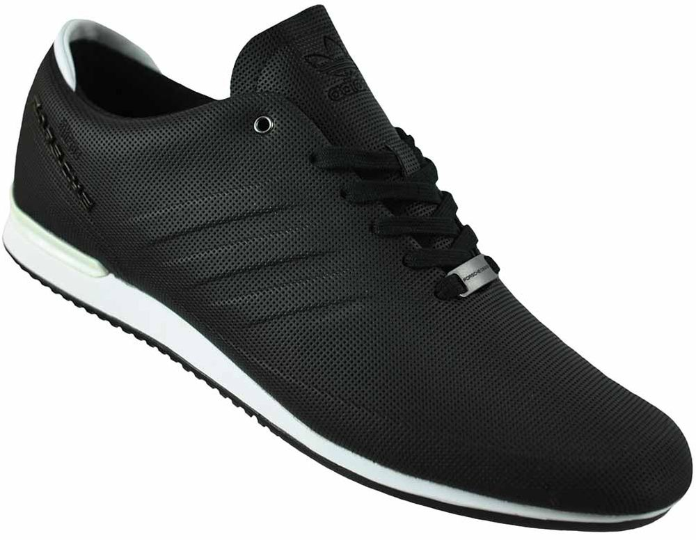 purchase cheap efee4 fb055 Adidas Porsche Type 64 Sport Trainers Originals Trefoil Men's Shoes Sneaker  Black/White