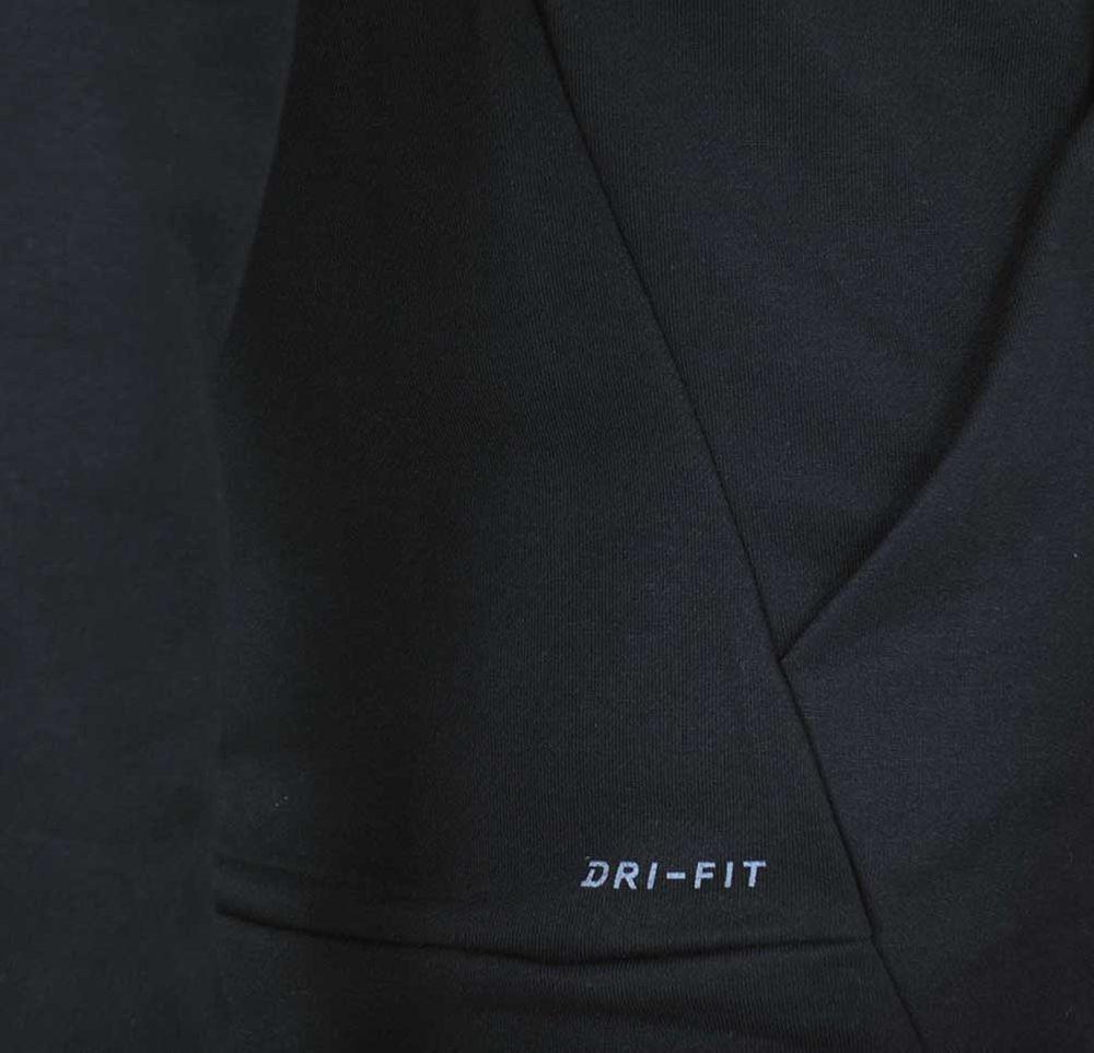 Nike NK PO Swoosh DRI FIT Hoodie Herren Kapuzenpullover Sweatshirt Hoody Schwarz – Bild 6