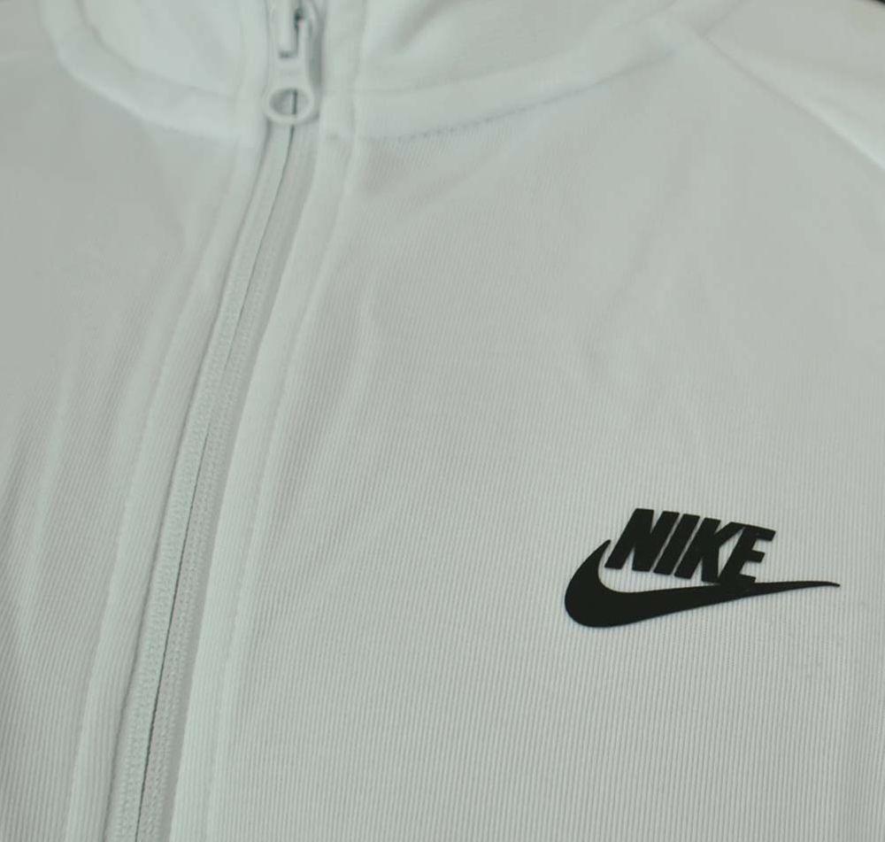 Nike Tribute Track Jacket Herren Trainingsjacke Weiß/Schwarz – Bild 2