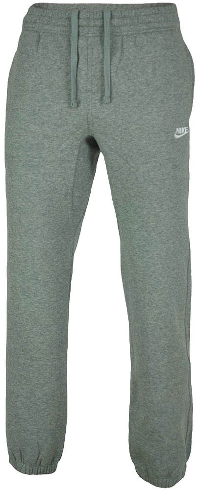 Nike Futura Classic cuffed Club Sweat Pants Herren Sporthose Trainingshose Hellgrau/Weiß
