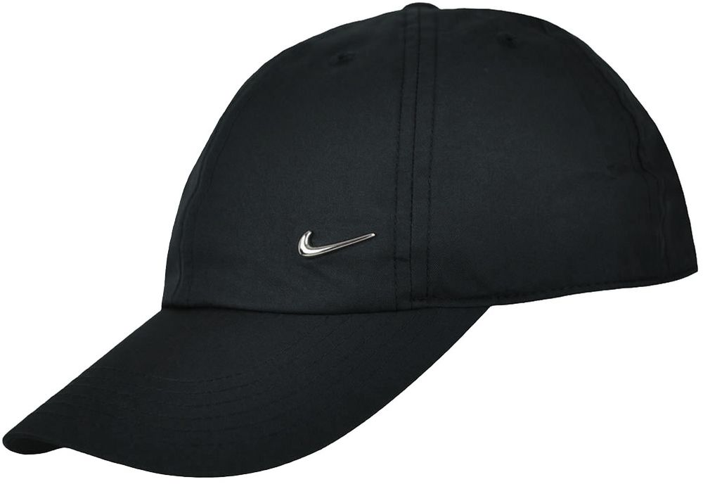Nike Heritage86 Cap Youth Kids Kinder Sport Lifestyle Cappy Base Cap Schwarz
