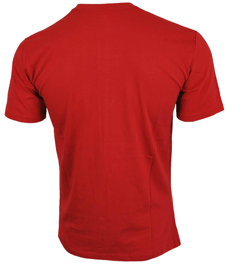 Nike Core Tee Herren Sport Slim Fit Fitness Baumwolle Shirt T-Shirt Rot – Bild 3