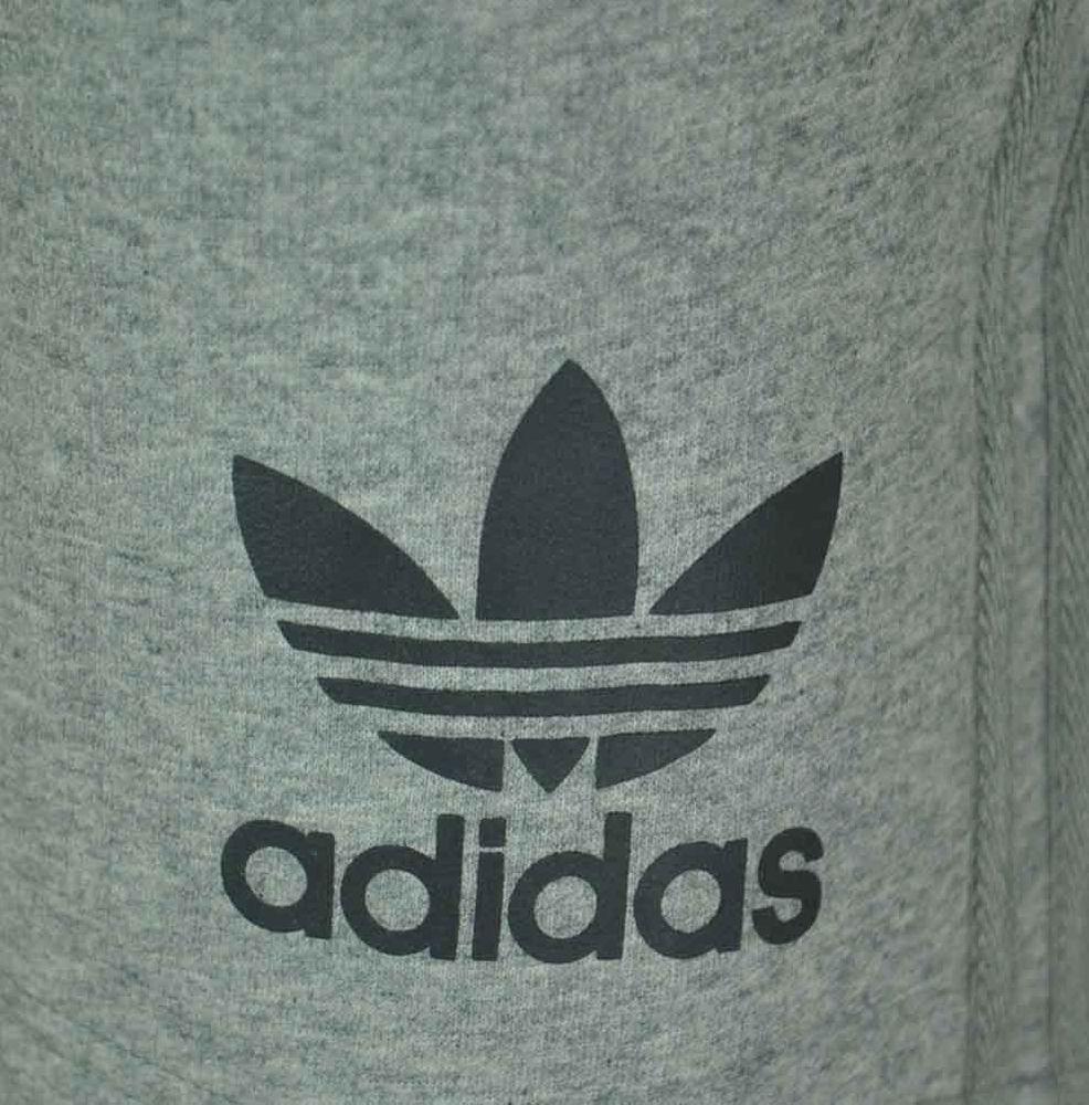 Adidas Sport ESS Short Herren Originals Trefoil Fleece Sweat Shorts Fitness Grau – Bild 3