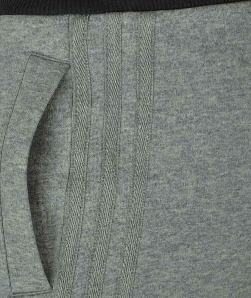 Adidas Sport ESS Short Herren Originals Trefoil Fleece Sweat Shorts Fitness Grau – Bild 5