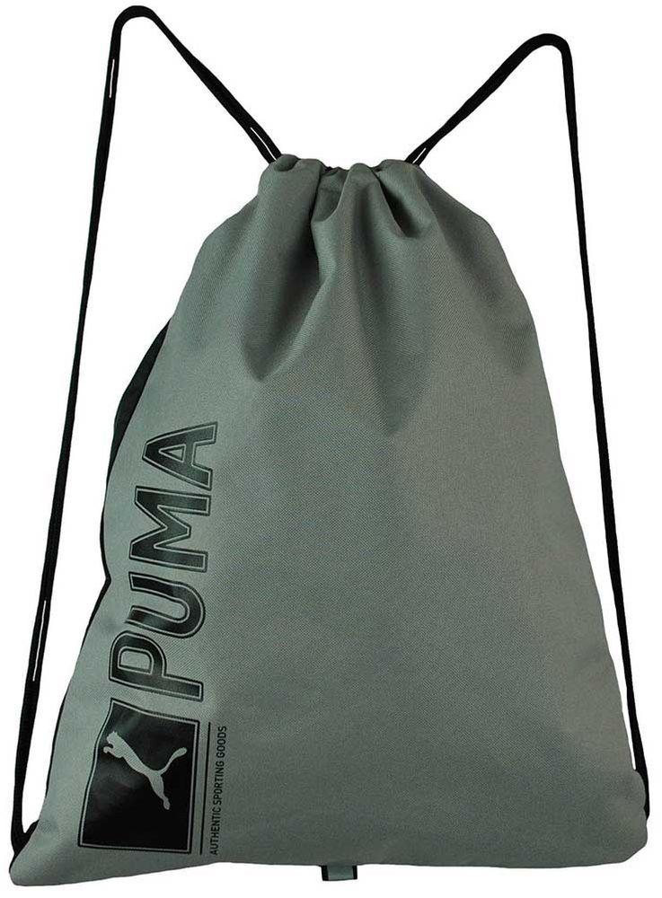 Puma Pioneer Gymnastic Sack Backpack Unisex Gymnastik Beutel Turnbeutel Grau