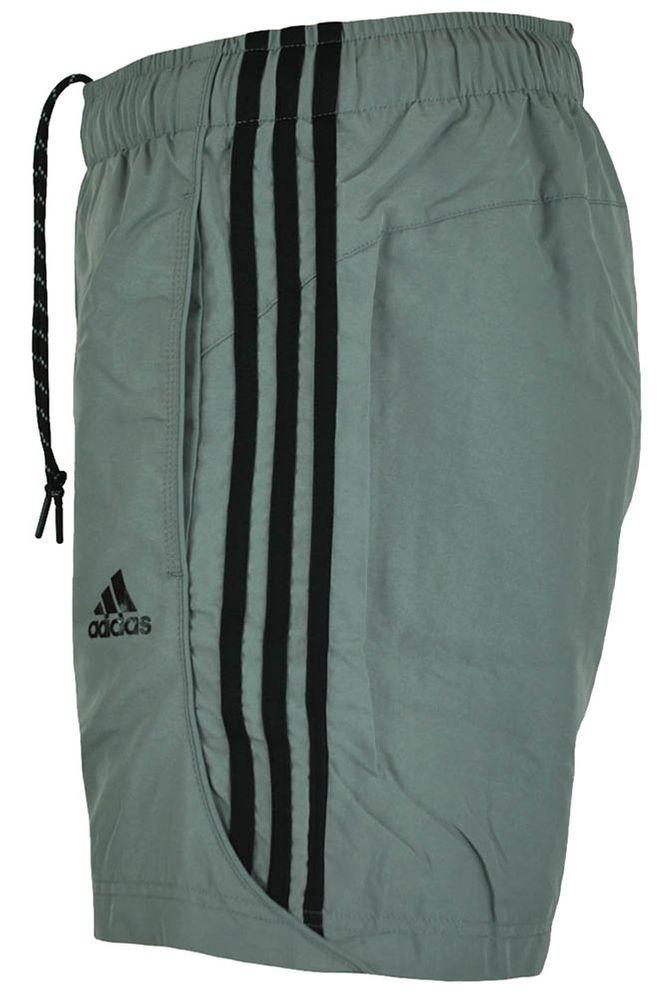 Adidas ESS 3S Chelsea Shorts Herren ClimaLite Short Funktionsshort Kurze Hose Grau – Bild 3