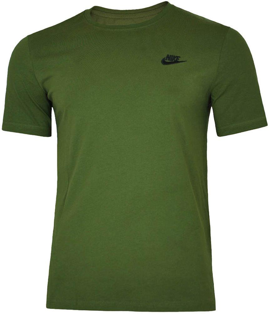 Nike Core Tee Herren Sport Slim Fit Fitness Baumwolle Shirt T-Shirt Grün – Bild 1