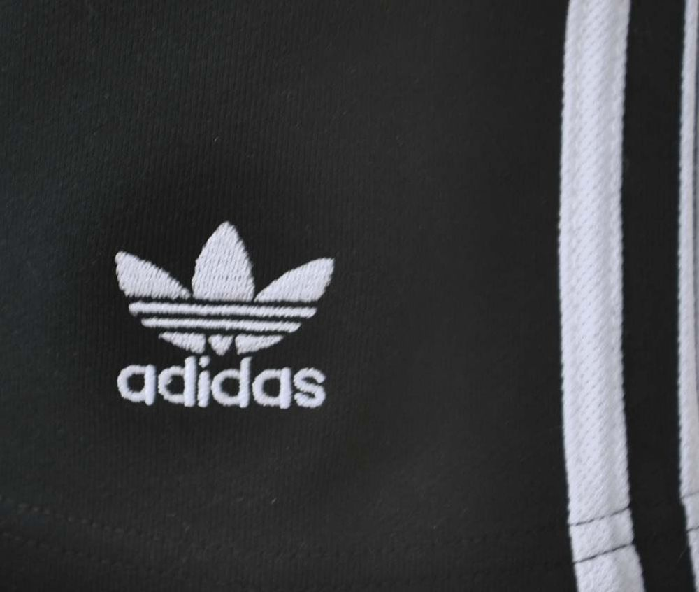 Adidas 3 Stripes Short Herren Originals Trefoil Sport Fitness Shorts Schwarz/Weiß – Bild 2