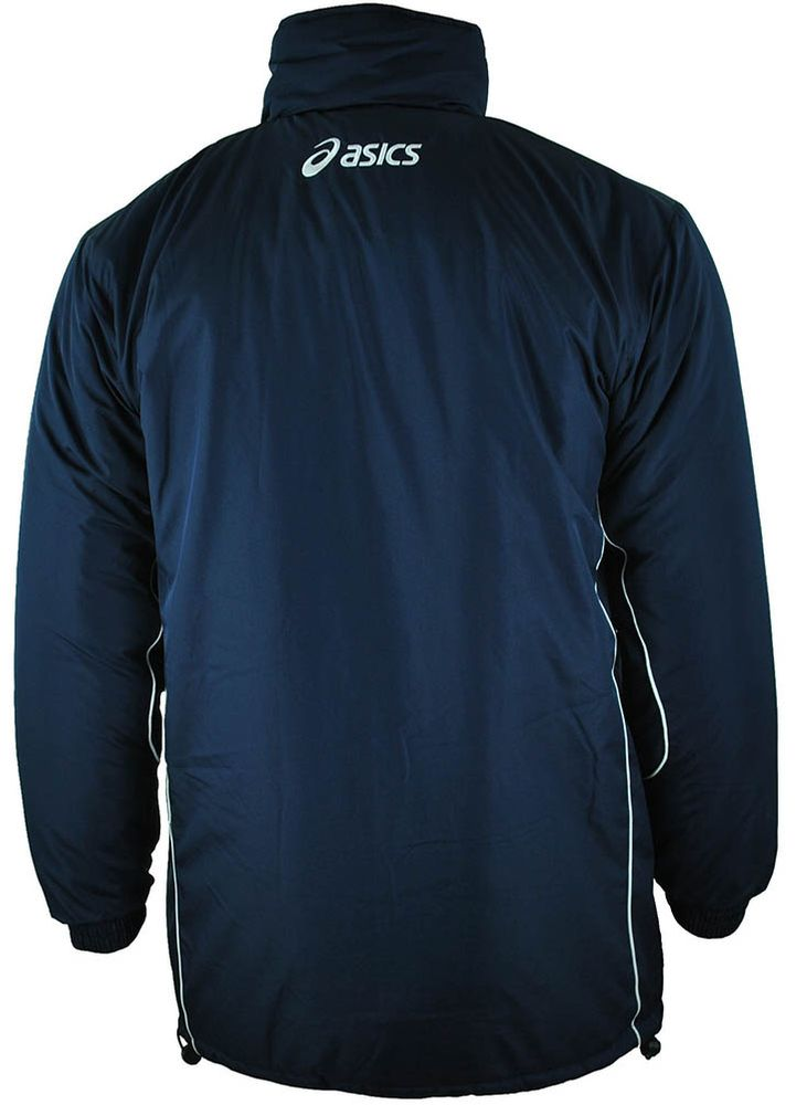 Asics Mountain mens Jacket Herren Winterjacke Jacke Navy – Bild 3