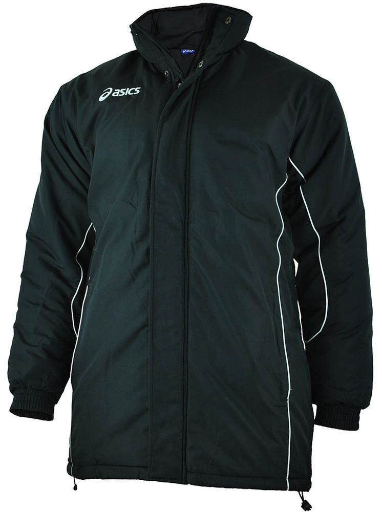 Asics Mountain mens Jacket Herren Winterjacke Jacke Schwarz