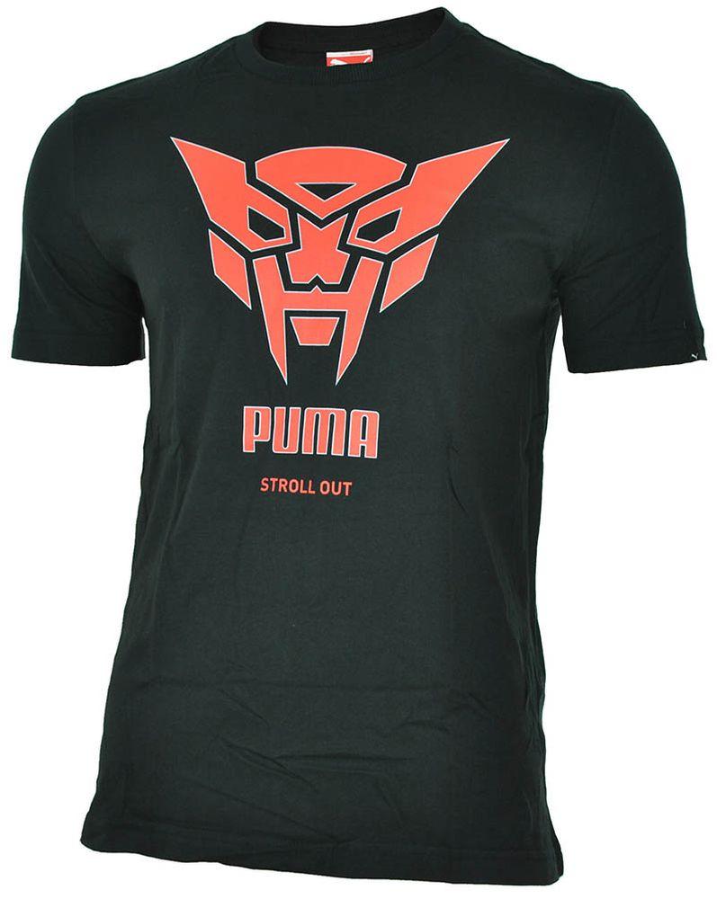 Puma Makers Tee mens Herren Sport Freizeit T-Shirt Schwarz – Bild 1