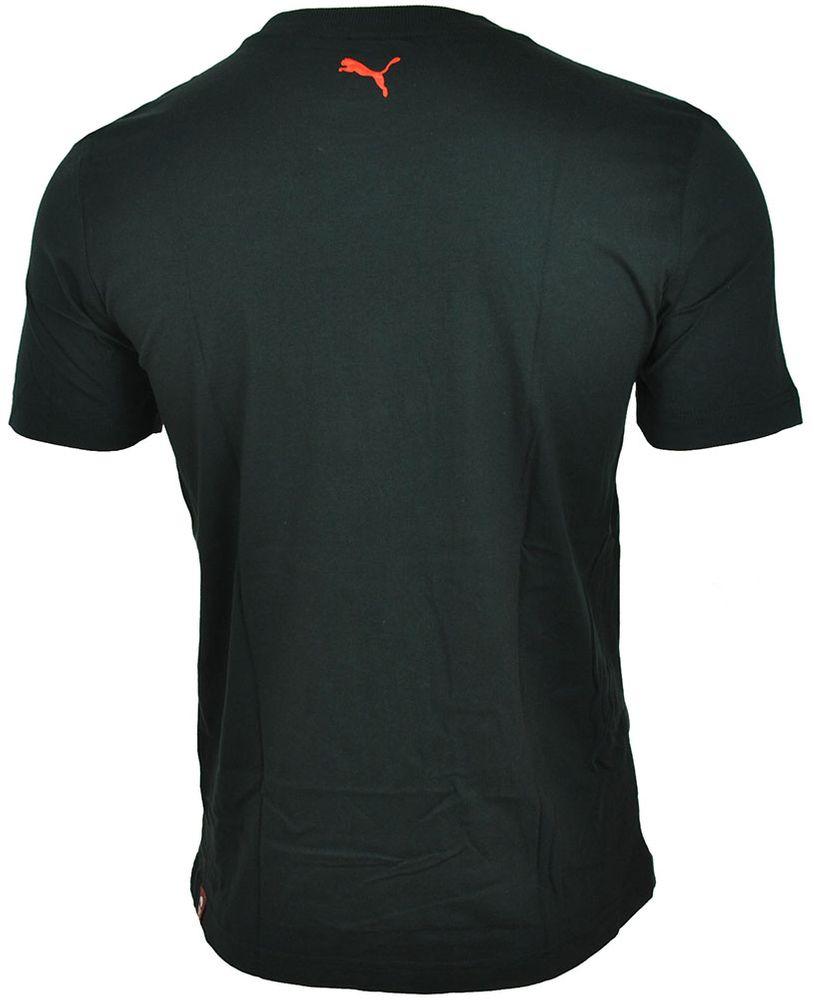 Puma Makers Tee mens Herren Sport Freizeit T-Shirt Schwarz – Bild 2