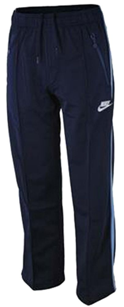Nike Sweat Pants Junior Kinder Freizeit Sport Freizeit Trainingshose Navy – Bild 1