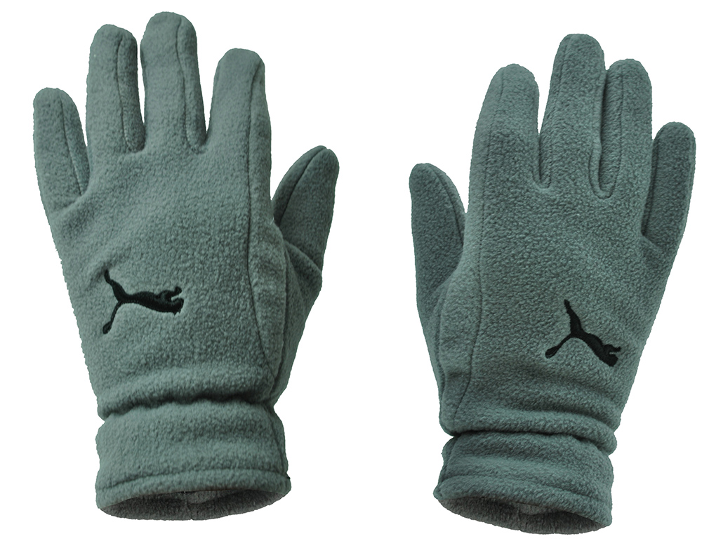 Puma Fundamentals Fleece Gloves Unisex Winter Handschuhe Grau