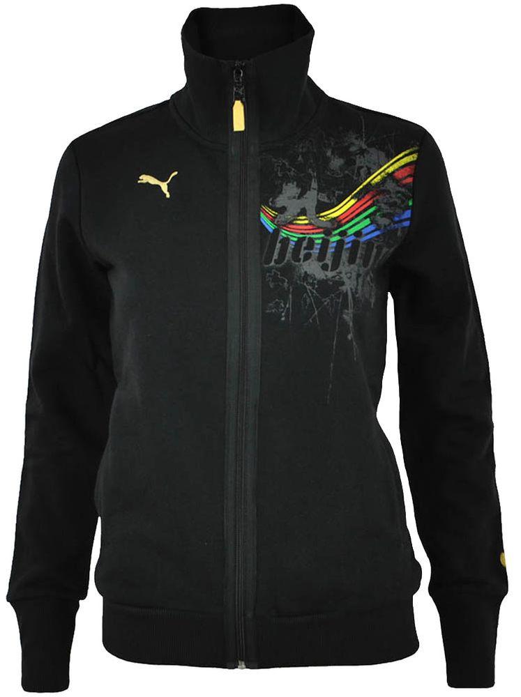 Puma Beijing Sweat Jacket Womens Damen Freizeit Jacke Schwarz Gr. XS