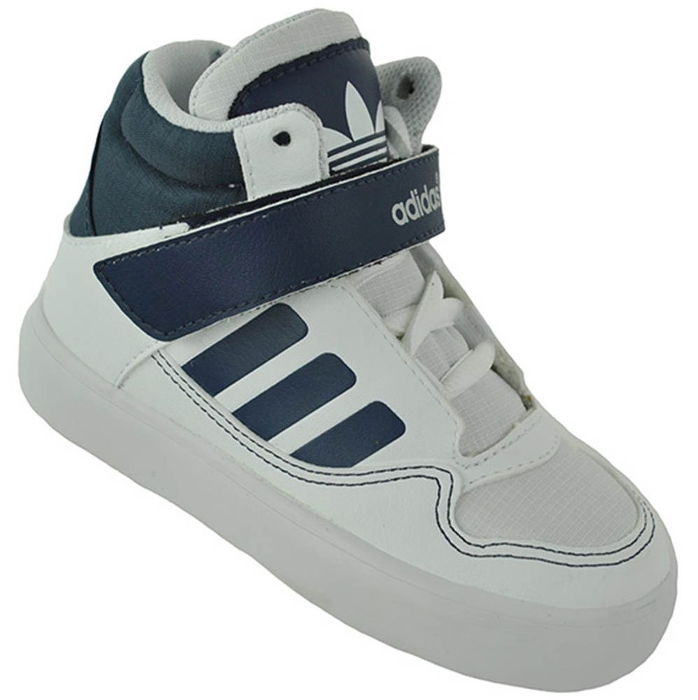 Adidas AR 2.0 I Junior Kinder Originals High Top Sneaker Weiß – Bild 1