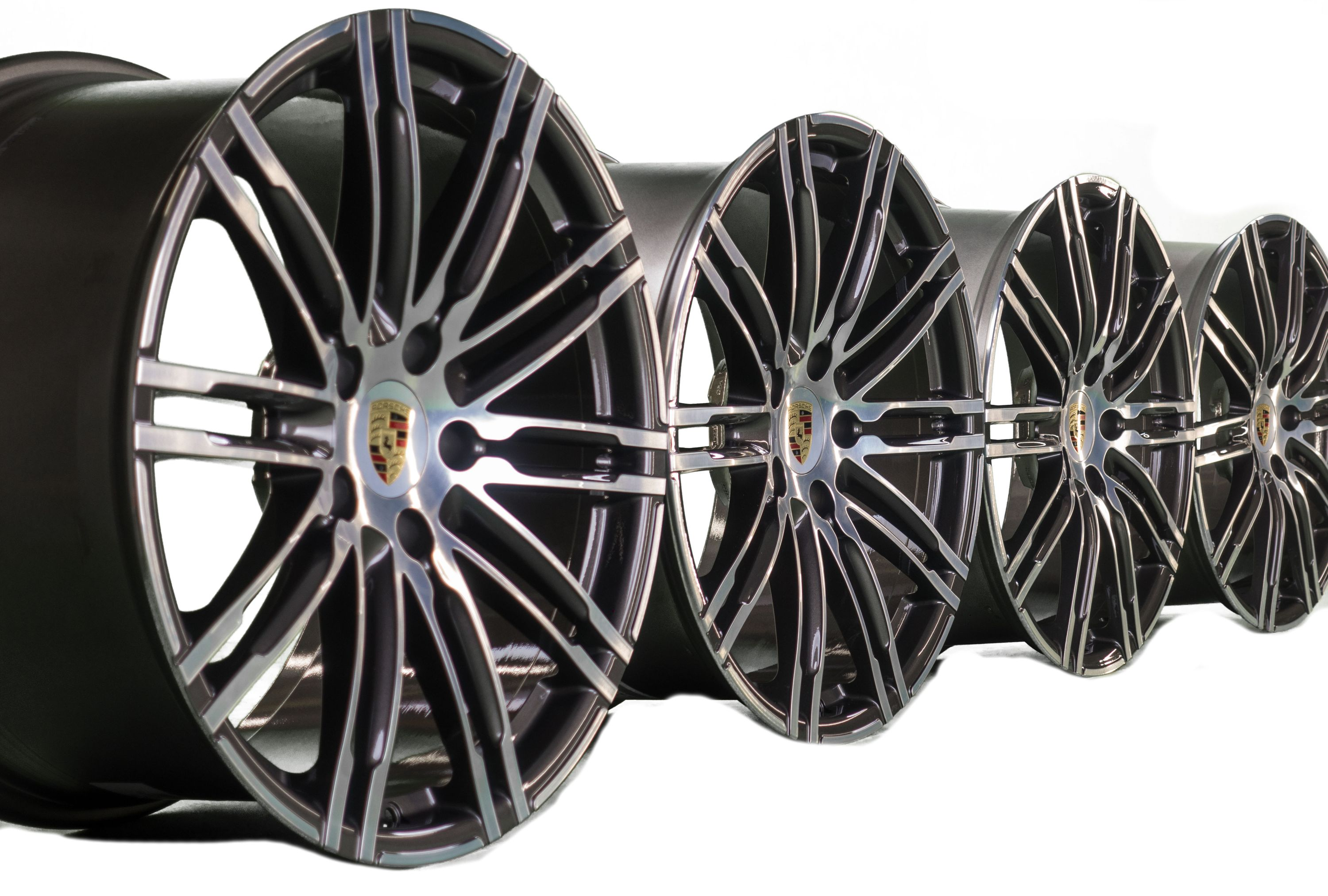 Details about Original Porsche 20 inch 911 991 Turbo III wheels facelift S  aluminum rims NEW