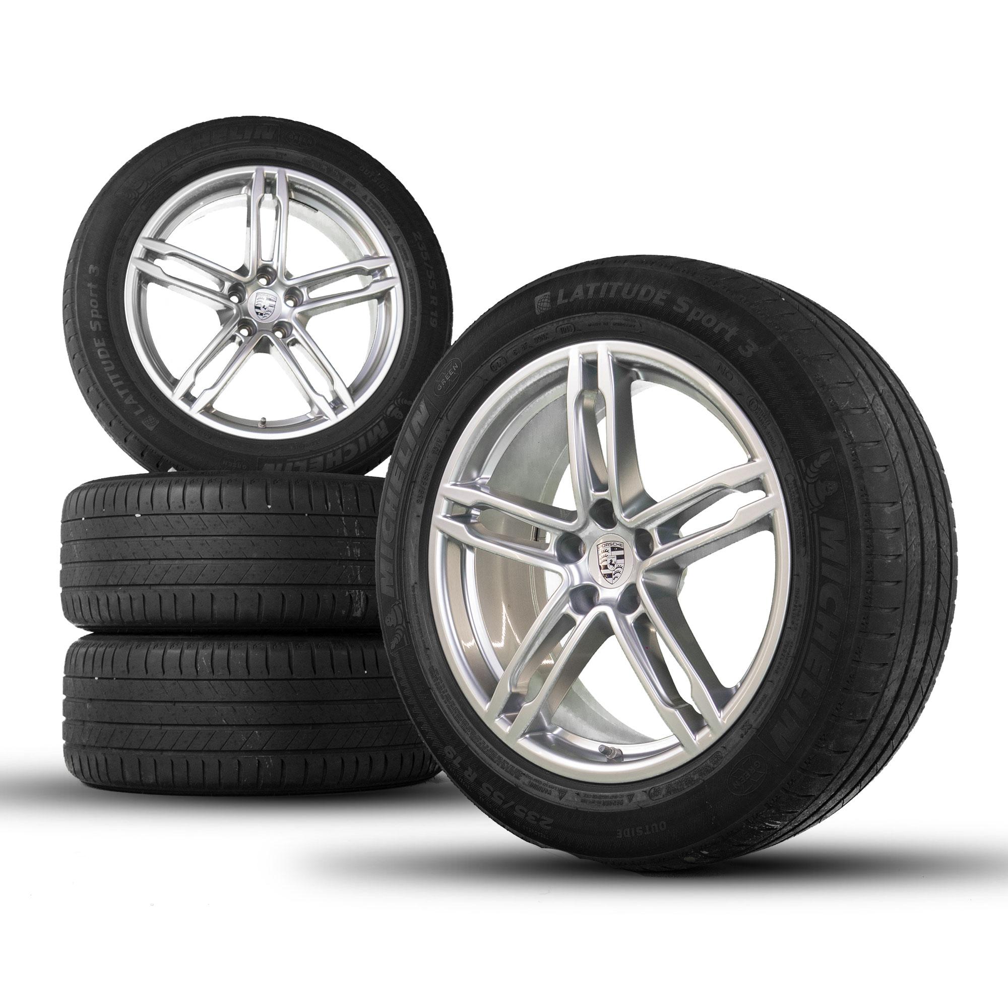Details about Original Porsche 19 inch rims Macan S GTS turbo wheel summer  tire summer wheels