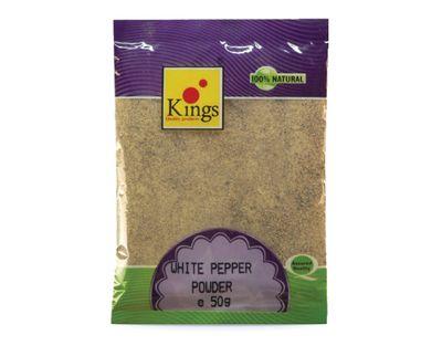 Kings - White Pepper Powder - 50g
