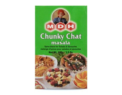 MDH - Chunky Chat Masala Spice Mix for Fruit Salads - 100g
