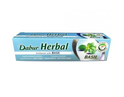 Dabur - Herbal Toothpaste with Basil Extract (Tulsi) - 100ml