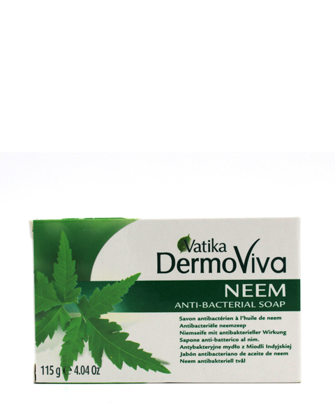 Dabur Vatika Dermoviva Neem Anti-Bacterial Soap - 115 Grams – Bild 1