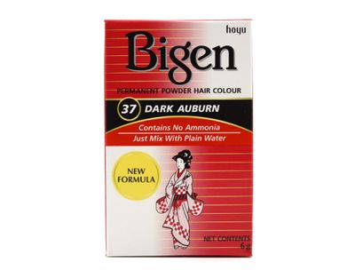 Bigen - Permanent Hair Powder Dark Auburn 37