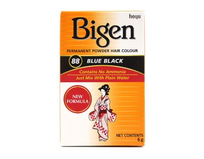 Bigen - Permanent Hair Powder Blue Black 88