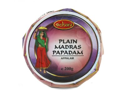 Schani - Papad Madras Lentils Patties 10cm/4inch - 200g