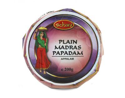 """Schani - Papad Madras Lentils Patties 4"""" - 200g"""
