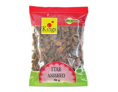 Kings - Star Anise Seeds (Chakra Phool) - 50g