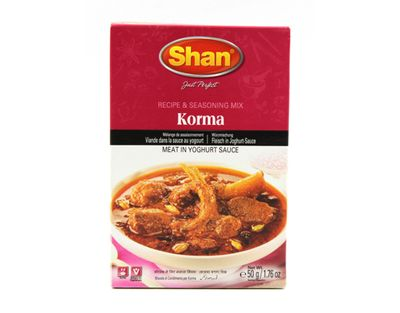 Shan - Korma Curry Spice Mix - 50g