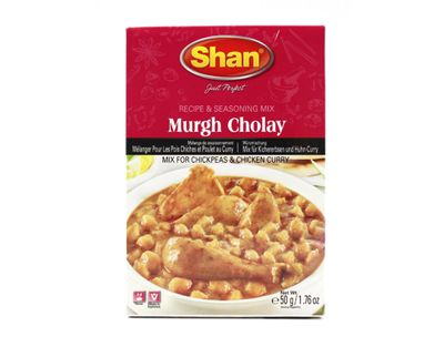 Shan - Murgh Cholay Spice Mix for Curry - 50g
