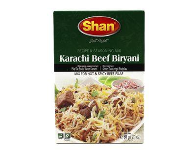 Shan - Karachi Beef Biryani Spice Mix for Beef - 60g