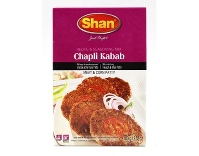 Shan - Chappli Kabab Spice Mix for Minced Meat Patties - 100g