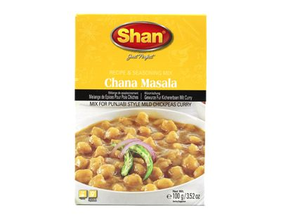Shan - Chana Masala Spice Mix for Chickpea Curry - 100g