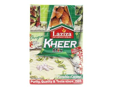 Laziza - Kheer Rice Pudding Mix with Pistachio & Coconut - 155g