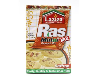 Laziza - Ras Malai Saffron Mix for Milk Balls - 75g