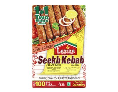 Laziza - Seekh Kabab Spice Mix for Kebab - 100g