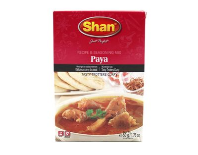Shan - Paya Spice Mix for hot Beef Curry - 50g