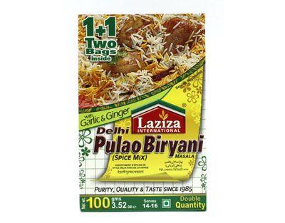 Laziza - Delhi Pulao Biryani Spice Masala Mix - 100g