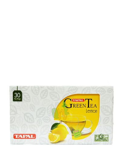 TAPAL Green Tea Lemon - 30 Tea Bags