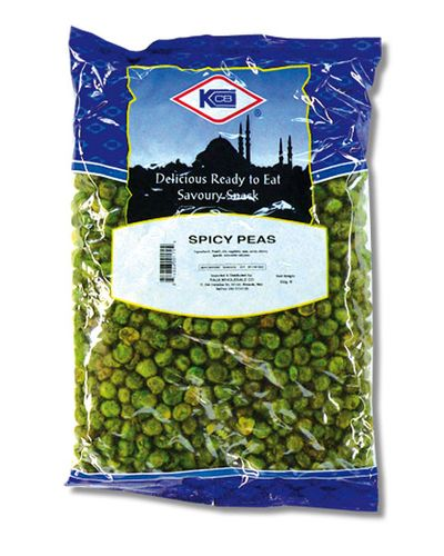 KCB Spicy Green Peas - 450 Grams