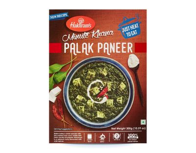 Haldiram - Palak Paneer (ready-to-eat) - 300g