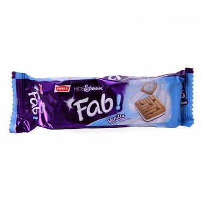 Parle Hide & Seek Biscuit Fab - Vanilla - 112 Grams
