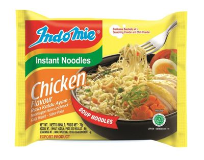 Indomie - Instant Noodles Chicken (Halal Product) - 70g