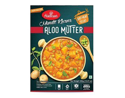 Haldiram - Aloo Mutter (ready-to-eat) - 300g