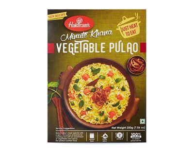 Haldiram - Vegetable Pulao (ready-to-eat) - 300g