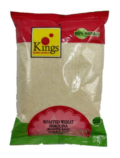 Kings Semolina Rava (Roasted Wheat) - 1 Kg