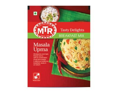 MTR - Masala Upma Instant Mix for Spicy Wheat Cream - 200g